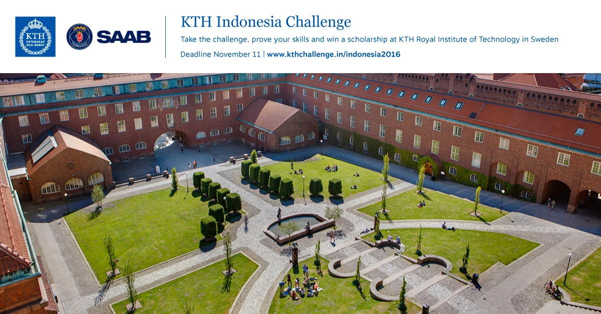 Study in sweden with a 2 year masters scholarship for kth royal institute of technology