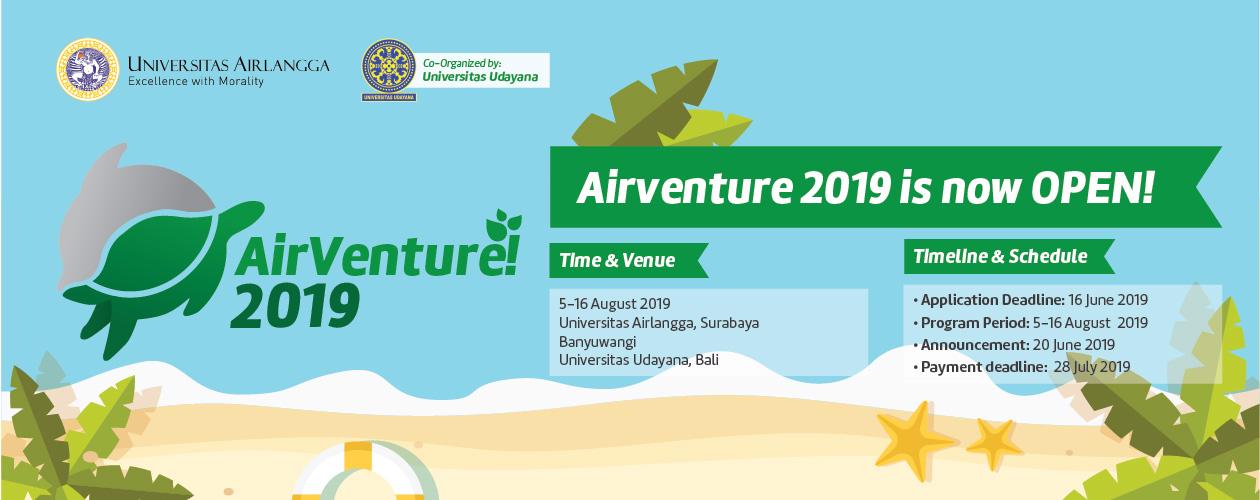 Airlangga Adventure: AirVenture! 2019