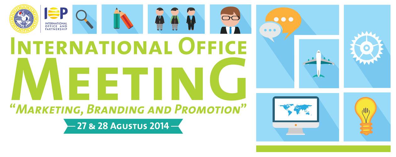 International Office Meeting 2014