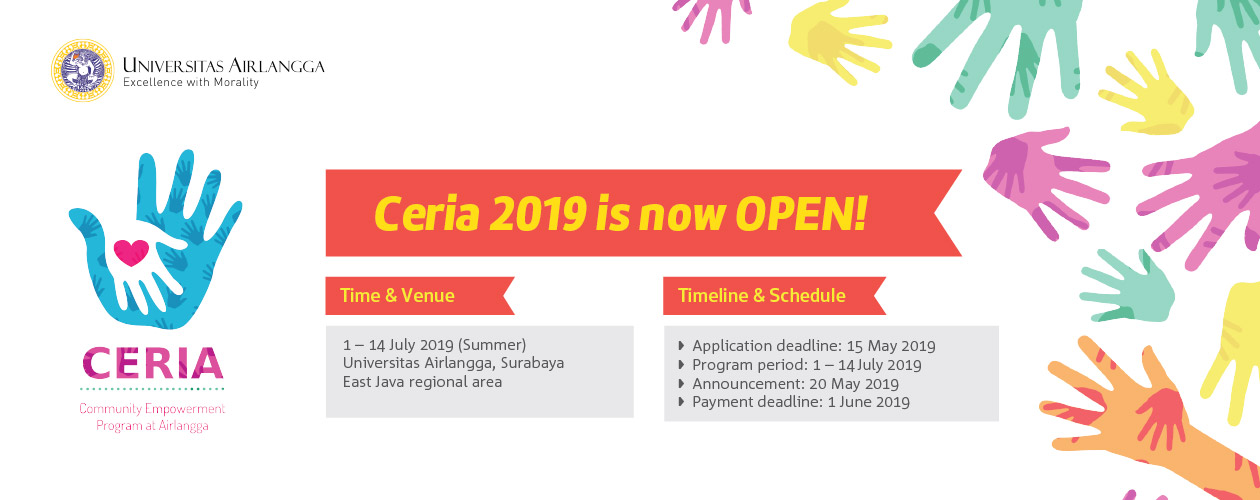 Community Empowerment Program at Airlangga (CERIA) 2019