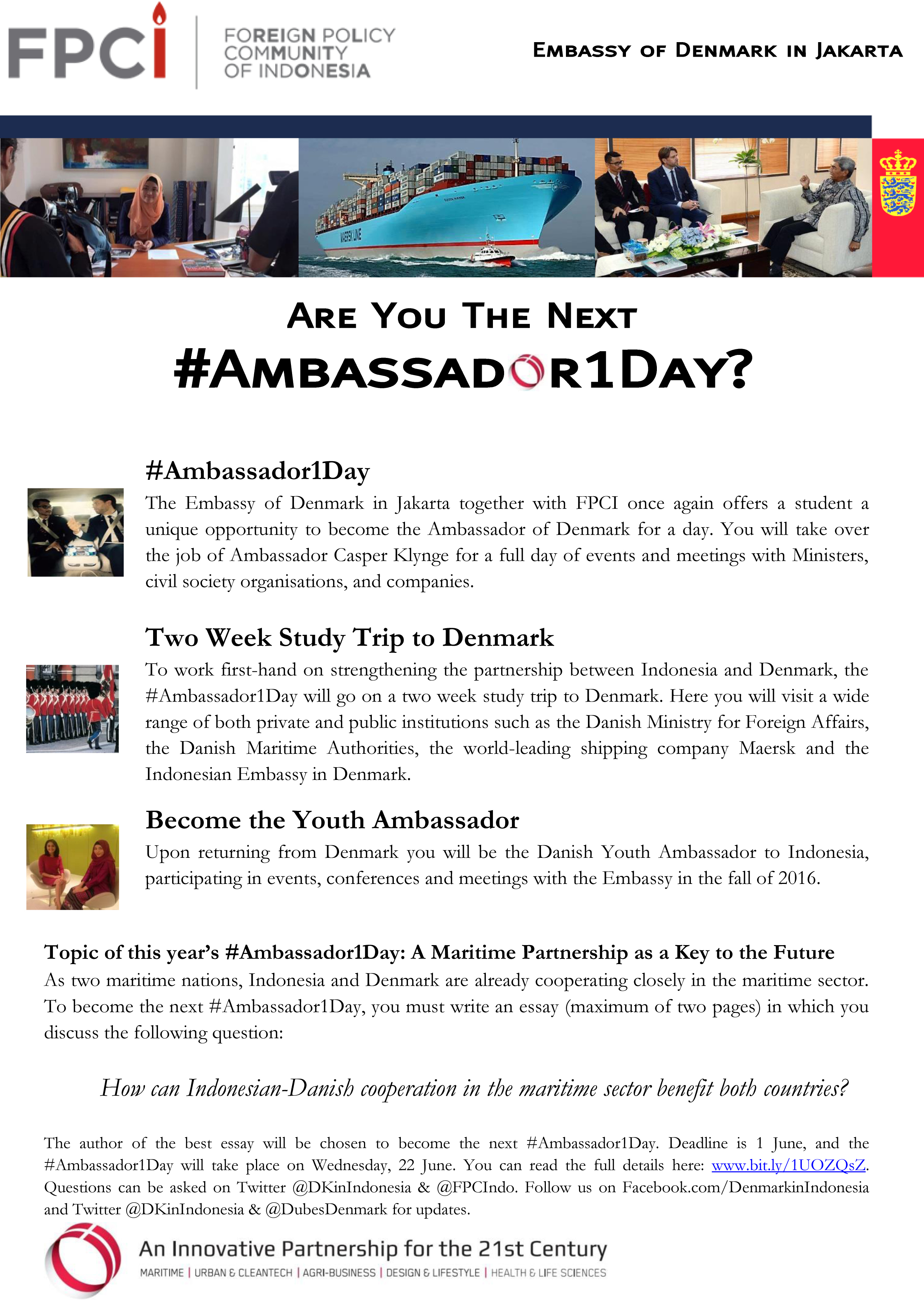 Ambassador1Day Essay Competition
