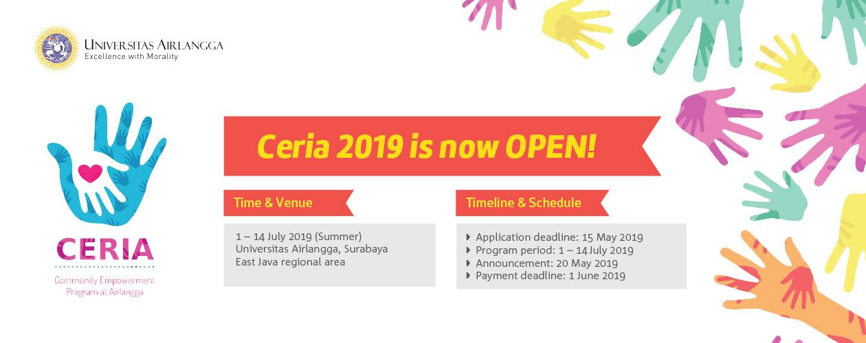 Community Empowerment Program at Airlangga (CERIA) 2019